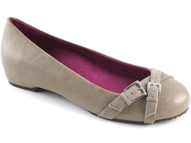 My most recent purchase... Dr. Weil Milan ballet flat in blue and