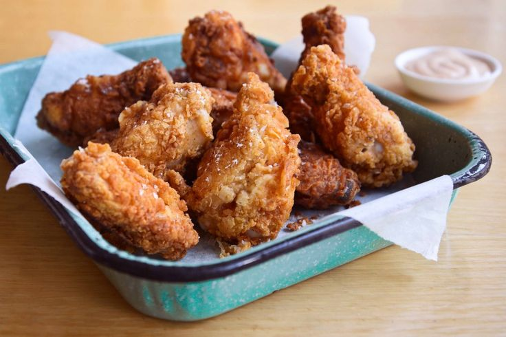 Smoked and Fried Buttermilk Chicken | Best from the Blogs | Pinterest