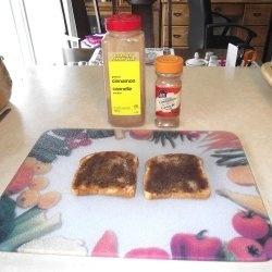 Cinnamon toast #cooking #food #toast #snack #breakfast