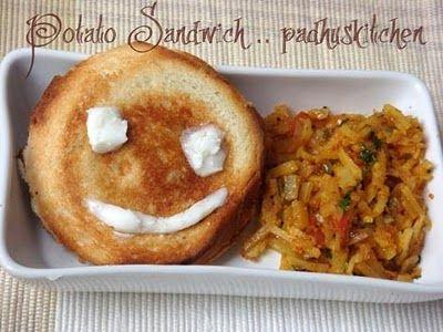 Potato Sandwich | Food | Pinterest