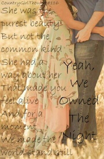 Lady Antebellum- owned the night. Country songs. Country quotes