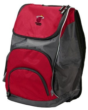 antigua Miami HEAT Action Back Pack Red