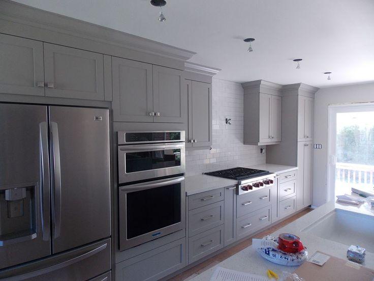 Rockport Grey #custom #kitchen for LB Designs #custom #cabinetry #
