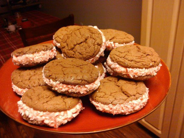 Chocolate peppermint sandwich cookies | Cupcakes & Desserts OH MY ...