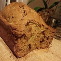 Cinnamon Carrot Bread Allrecipes.com - I added 2 pinches of ginger and ...