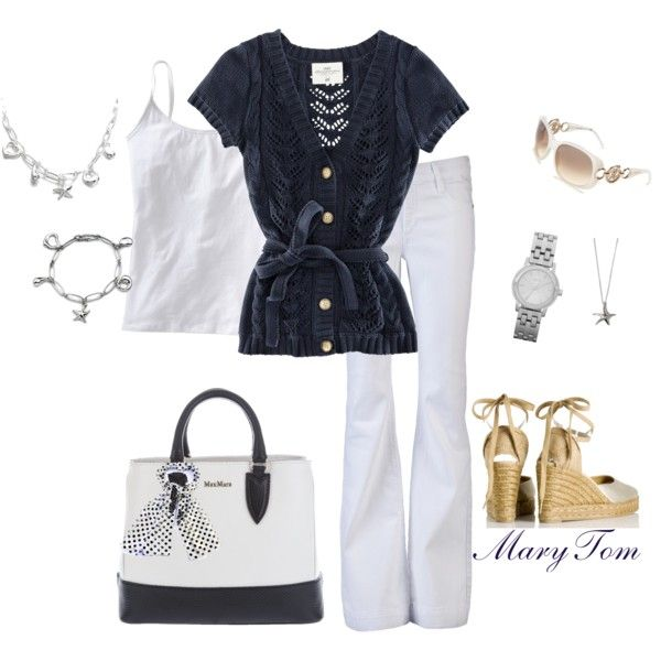 Working in the Spring, created by mary-tom on Polyvore