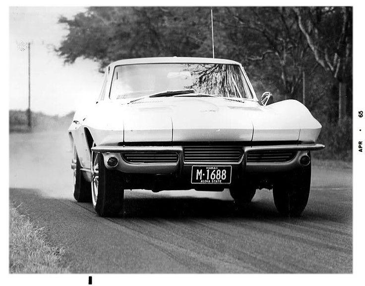 Hole Shot… 1963 Split Window Coupe from Apr '65