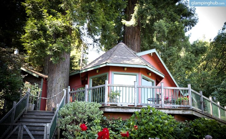 treehouse hotel in california tree house rental in