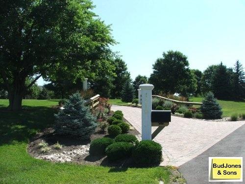 Landscaping Driveway Entrances Pictures : Driveway entrance home gardening landscaping pi