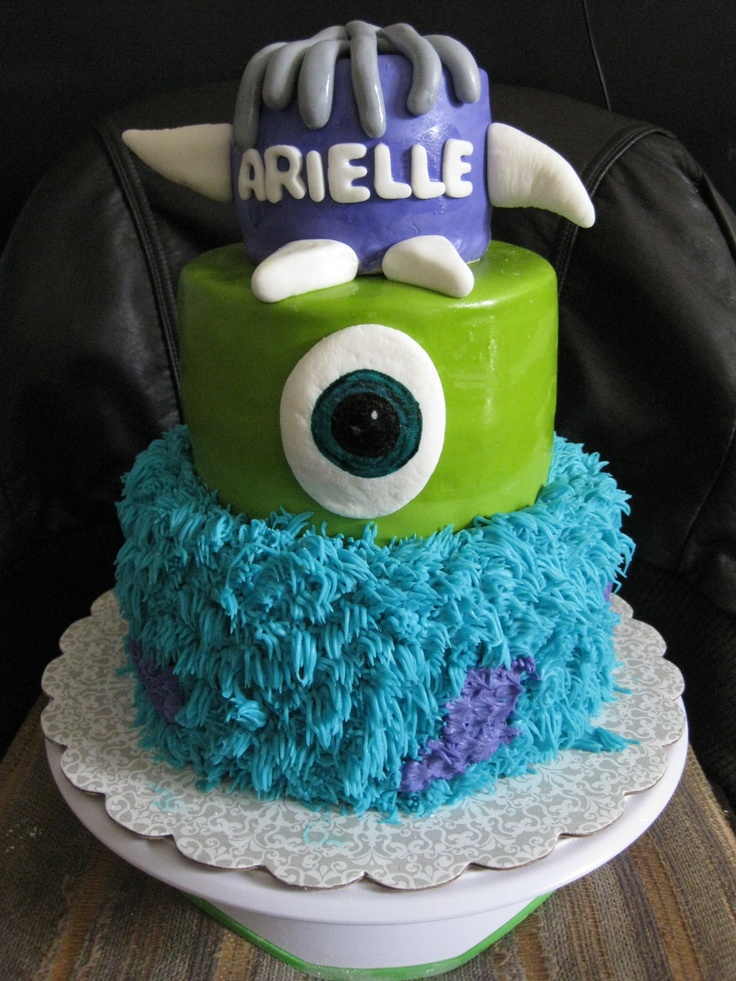 monsters inc cakes disney cakes pinterest