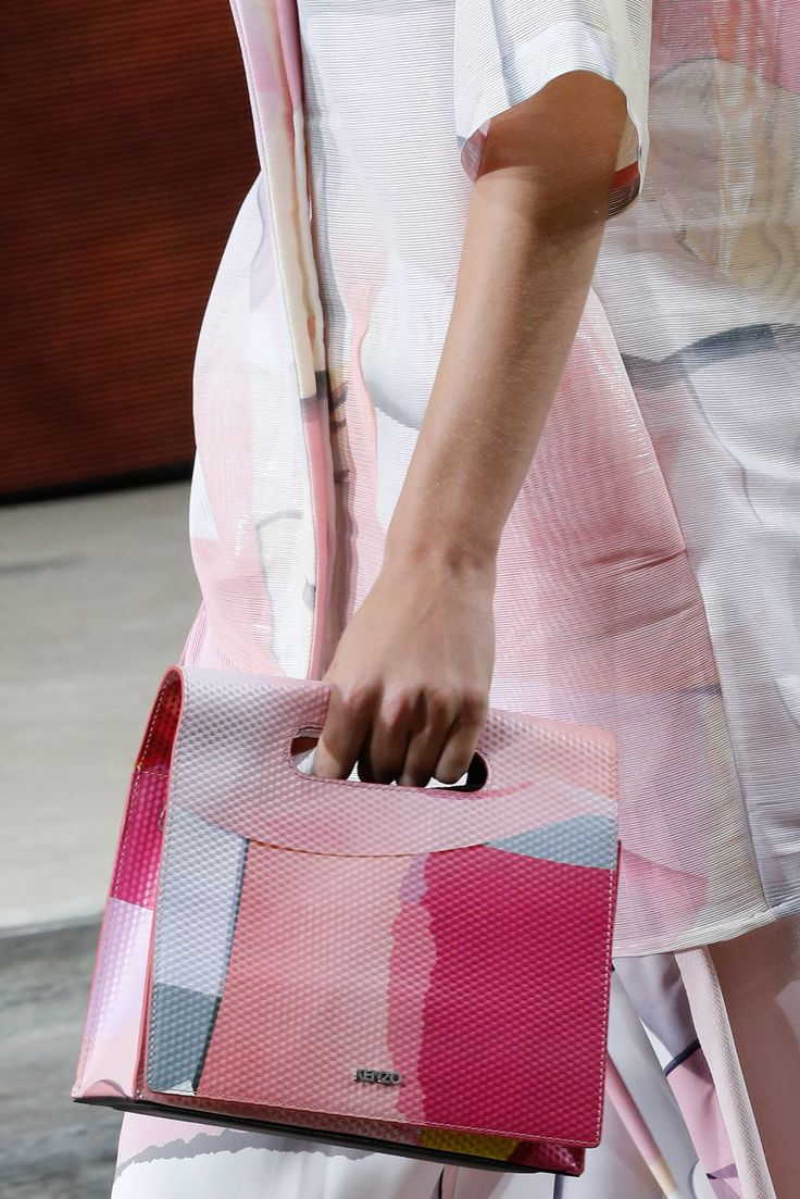 bags @ Kenzo Spring 2015