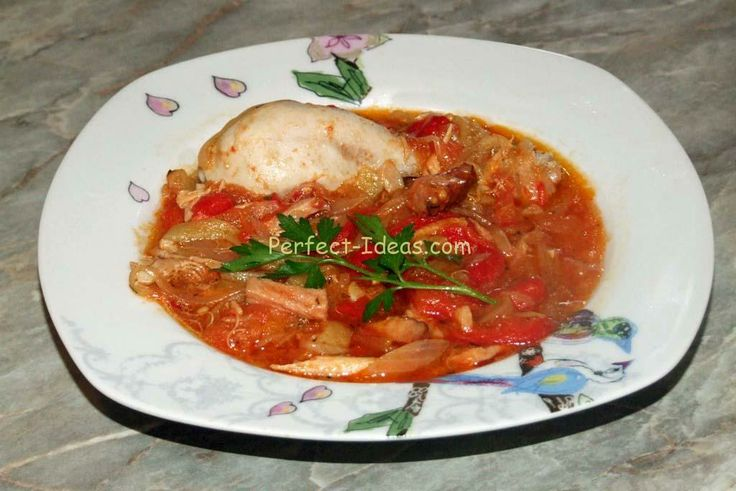 Chicken Basquaise | Foods I'ld Like to Try | Pinterest