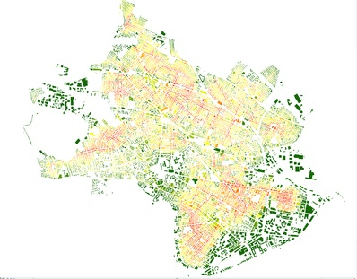Urban Network Analysis via MIT's City Form Research Group
