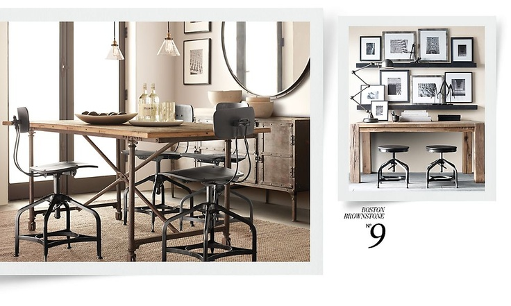 Dining table flatiron dining table restoration hardware for Dining room tables at restoration hardware