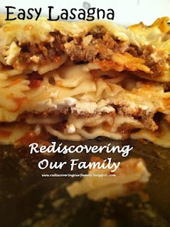 Easy Lasagna Recipe: this doesn't use traditional lasagna noodles, is ...
