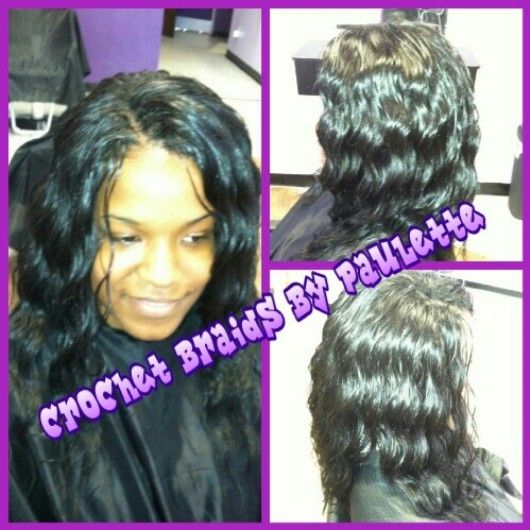 Crochet Weave done by yours truly.. Paulette located in Decatur, Ga ...
