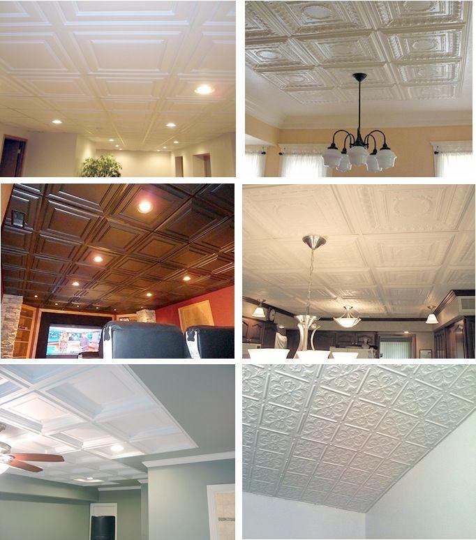 better drop ceiling tiles mi casa pinterest