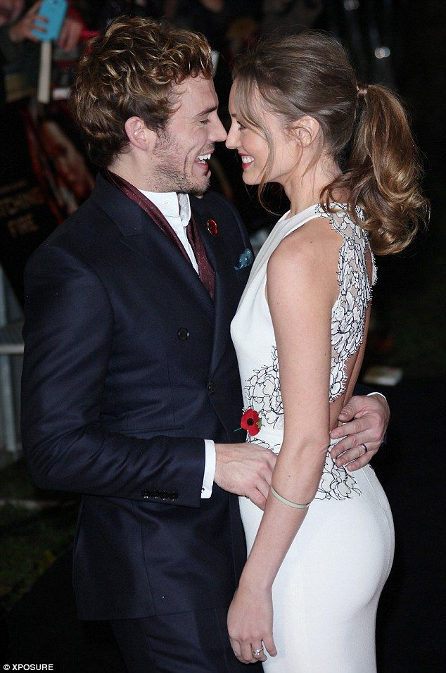 Sam Claflin and Laura Haddock | Sam claflin | Pinterest