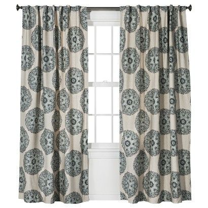 Threshold™ Medallion Curtain Panel