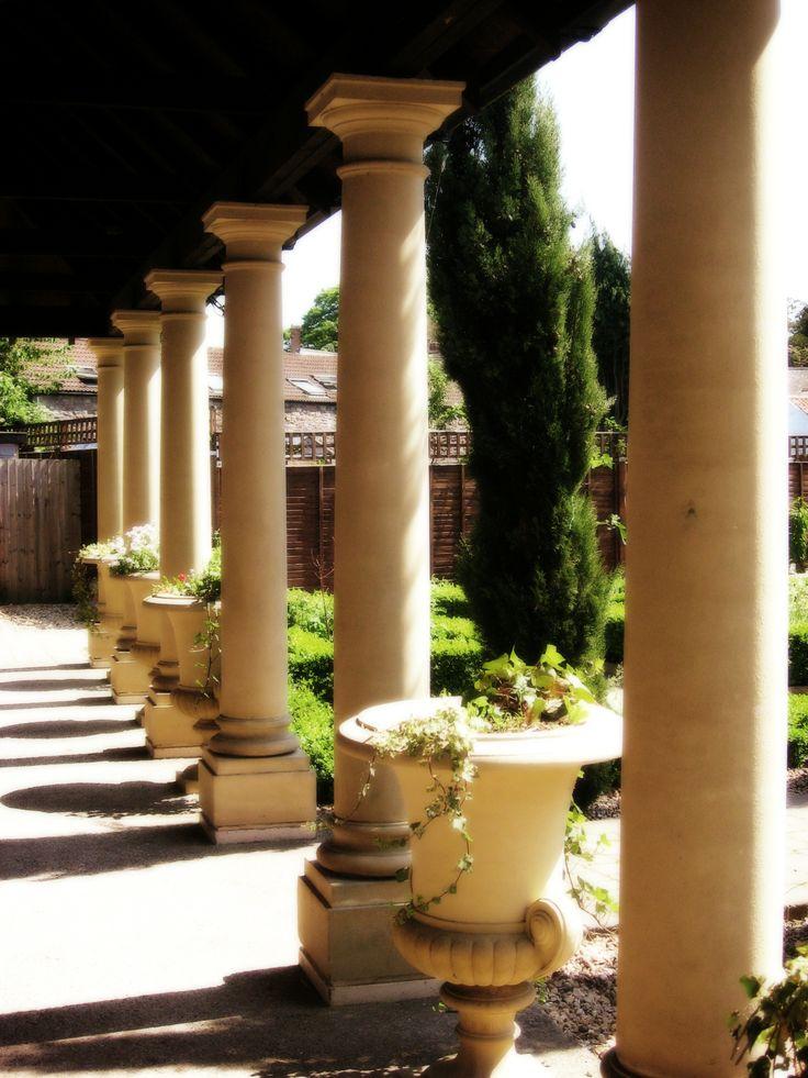 Roman Garden Arquitectura Escultura Y Jardines Pinterest