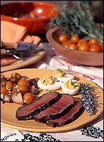 Bourbon-Marinated Steak | Recipe