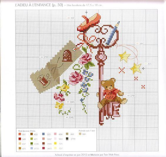 Вышивка крестом дизайнерские схемы 48