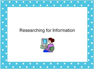 The Book Bug: Research Lessons