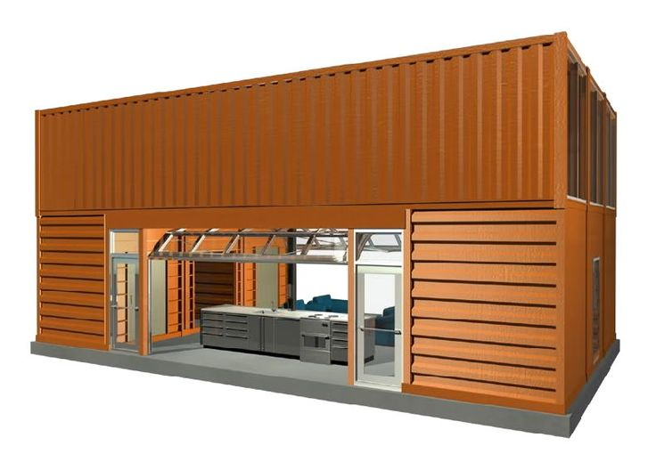 Conex box house design google search homes outside the box pint - Box container homes ...