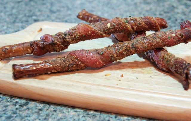 RECIPE: How to make Bacon Wrapped Pretzels
