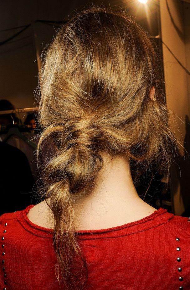 Queue De Cheval Hairstyle : La queue de cheval floue chez Marni Hairstyle Pinterest