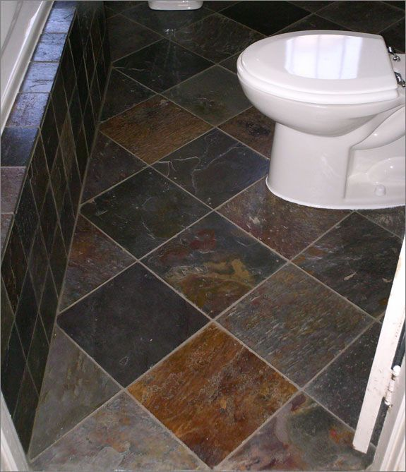 Slate Tile Floors Throughout The House Eventually