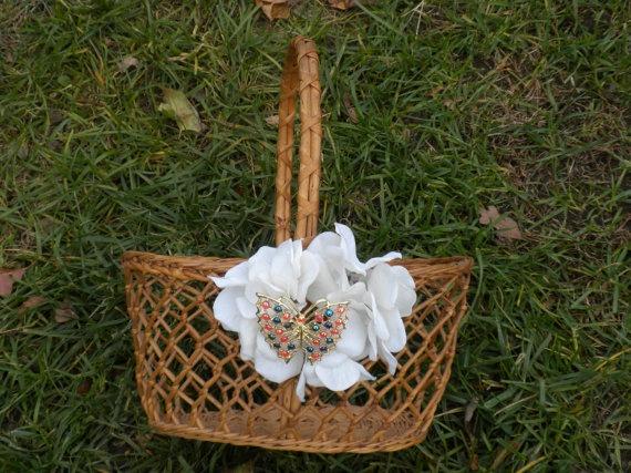 Flower Girl Baskets On Pinterest :