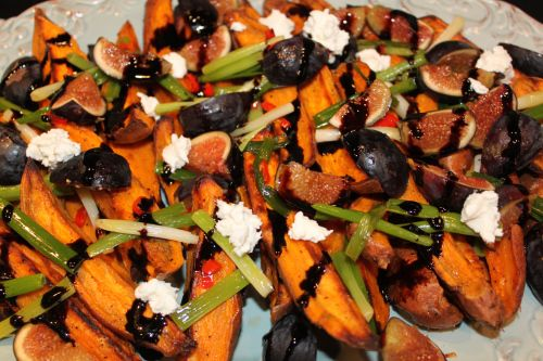 "Roasted Sweet Potatoes and Fresh Figs, Ottolenghi on ""Musings of a Sly ..."