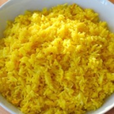 Saffron Rice-going to have to try this!