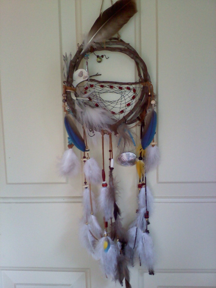 Pin by tamee ferrer on craft easy pinterest for Materials to make a dreamcatcher
