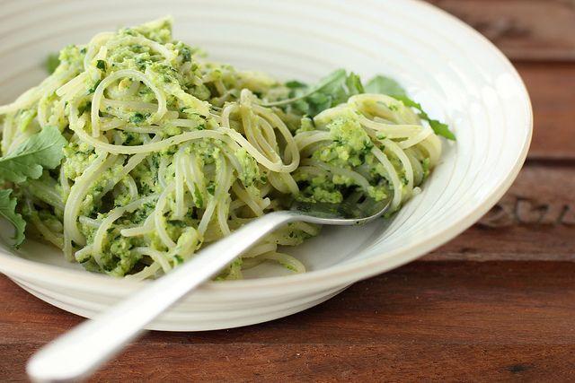 broccoli + rocket pesto ( on pasta ) by My Darling Lemon Thyme - vegan ...