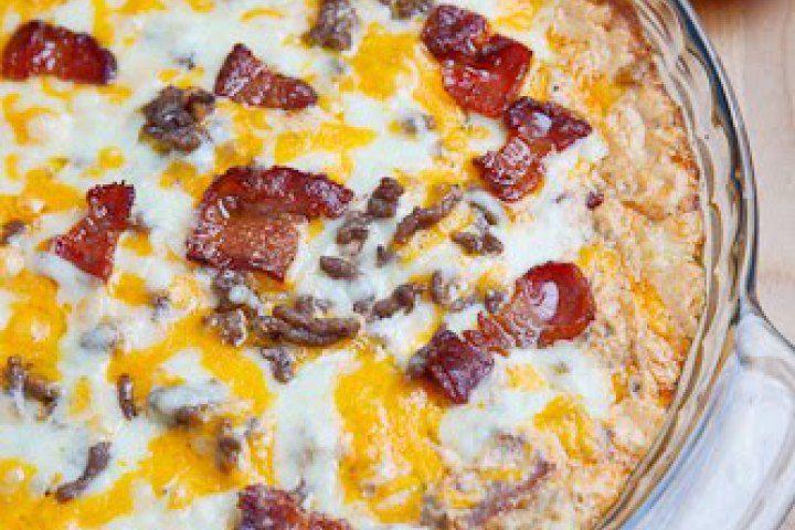 Bacon Double Cheese Burger Dip | Food / Recipes | Pinterest