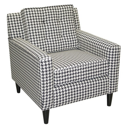 Houndstooth chair creating atmosphere pinterest