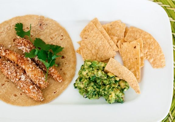 Panko Crusted Fish Tacos - - These panko-crusted fish tacos. They're ...