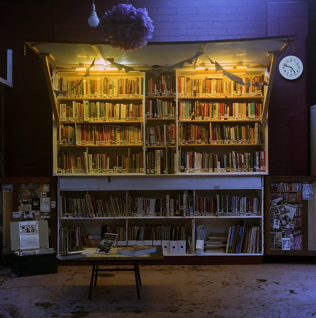 The Canny Little Library at the Star and Shadow Cinema. Newcastle Upon Tyne, 2012.