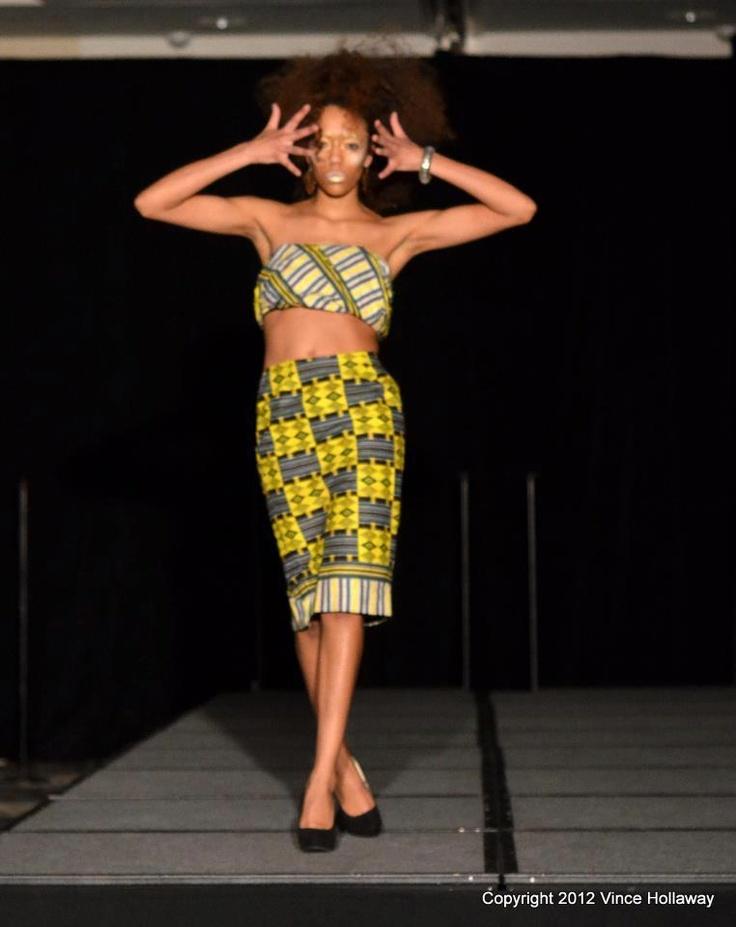 Image of afrik ankara skirt