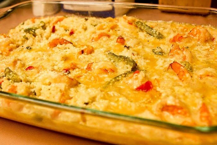 Shrimp casserole seafoods pinterest for Fish casserole recipes