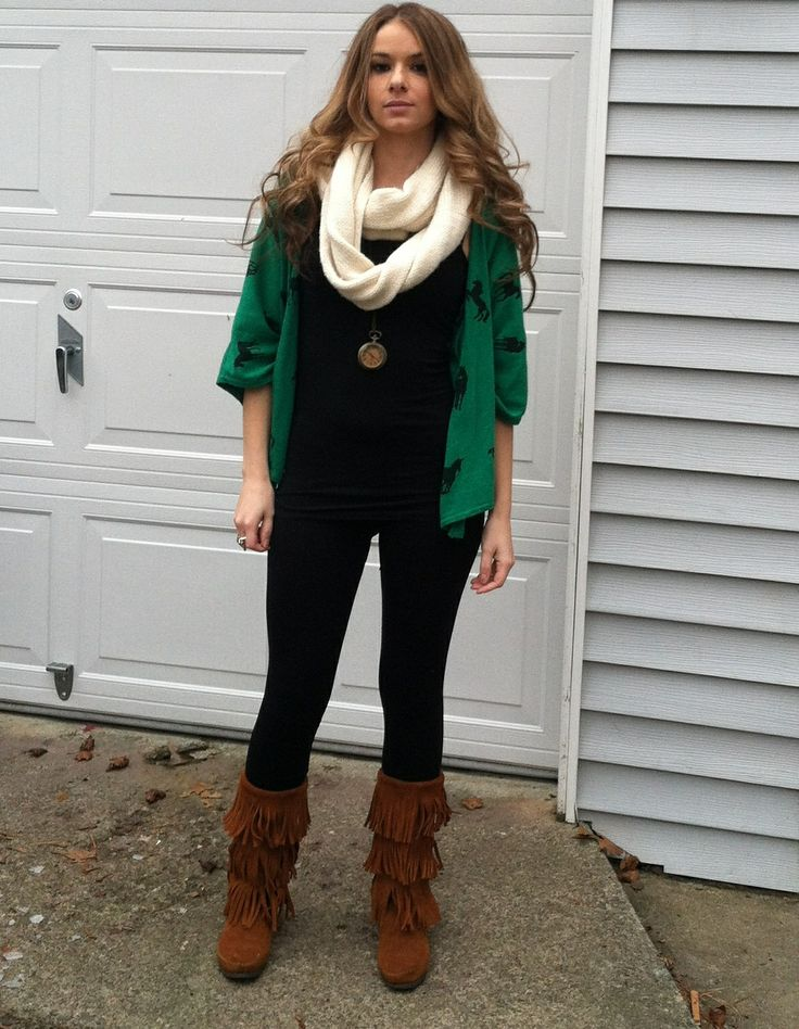 Pin By Bailey Hendrix On Fringed Boots Outfits ️ Pinterest