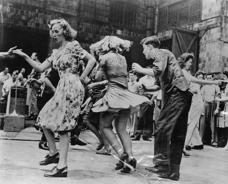 Vintage Swing Dance Photo