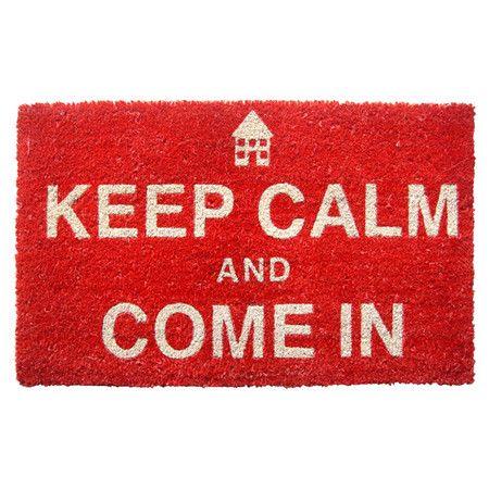 Keep Calm Doormat
