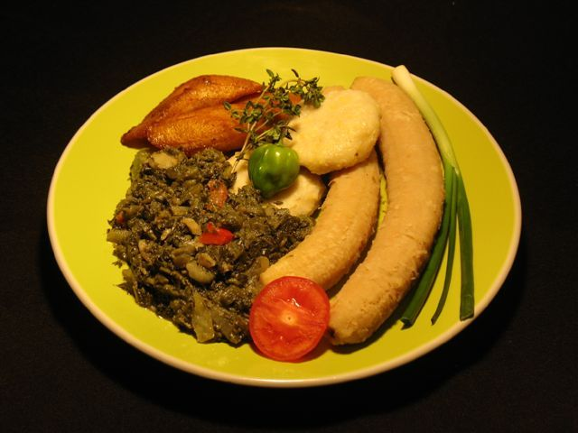 traditional jamaican recipes  how to cook callaloo and