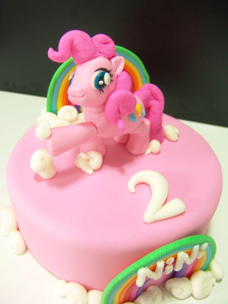 Birthday Cake Images With Name Pinky : Pinkie Pie Cake and cupcake Pinterest