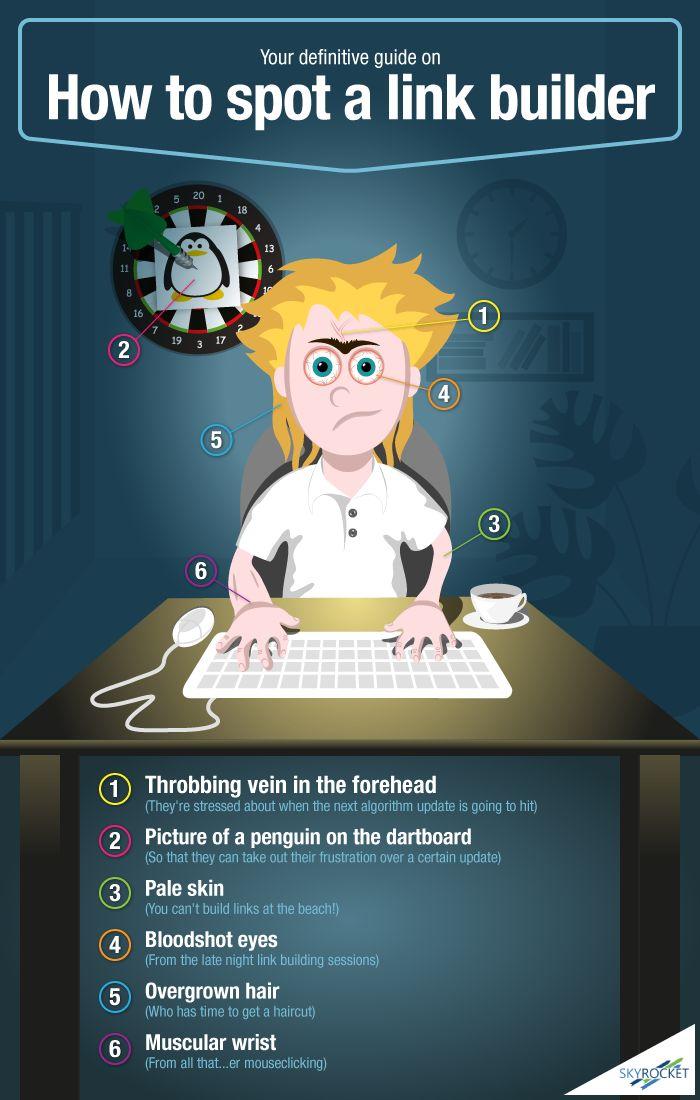 How to Spot a Link Builder #Infographic #seo #socialmedia
