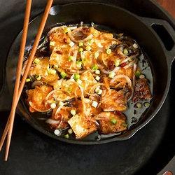 Caramel-Cooked Tofu — Punchfork. YUM! | Recipes & Food | Pinterest