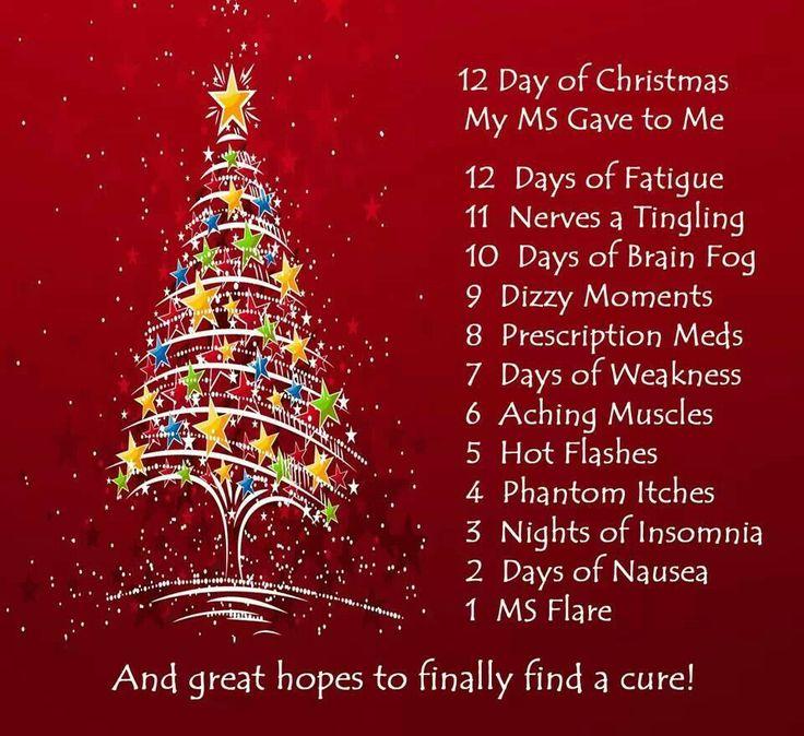 12 days of Christmas | Fibromyalgia | Pinterest